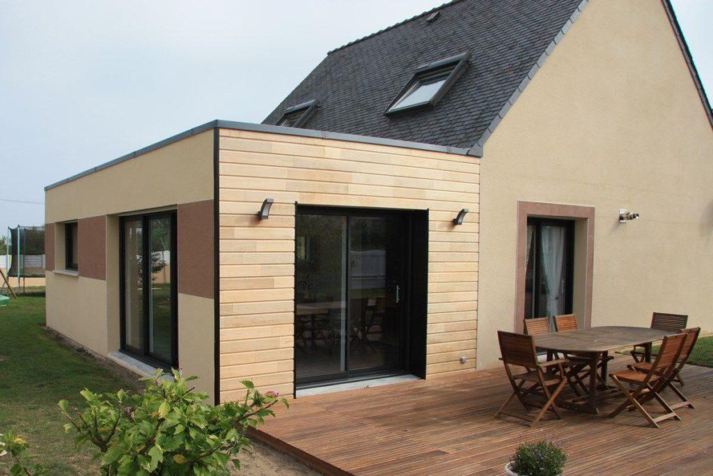 maison bois kit bois. Black Bedroom Furniture Sets. Home Design Ideas