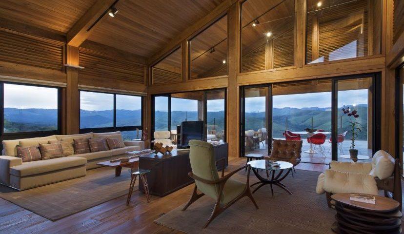 maisons en bois moderne