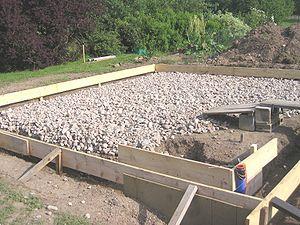 couler une dalle beton exterieur
