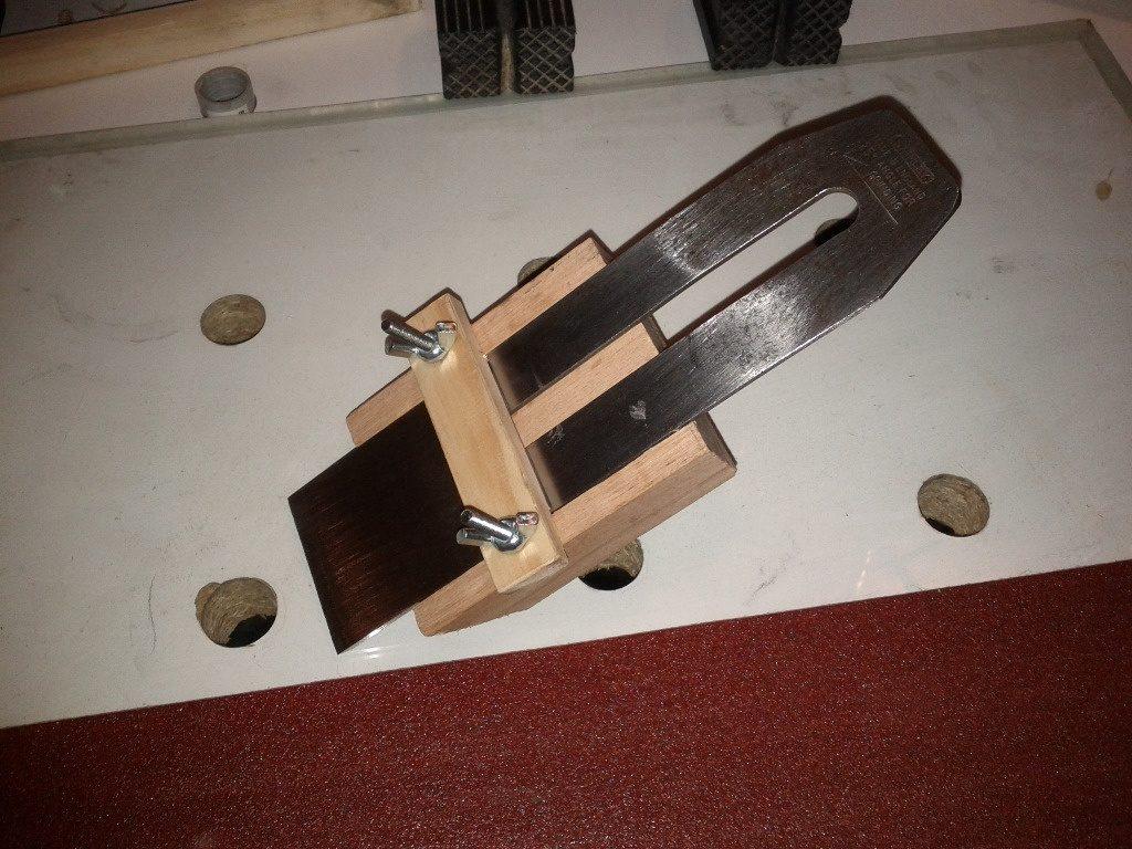 affutage ciseaux à bois