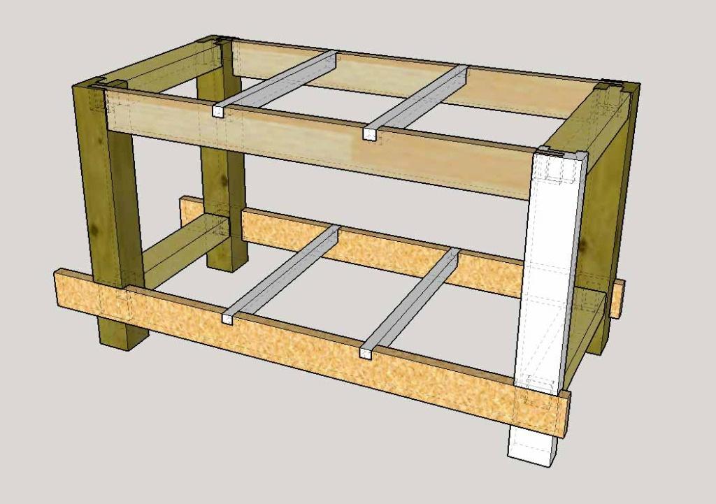 fabriquer etabli menuisier bois. Black Bedroom Furniture Sets. Home Design Ideas