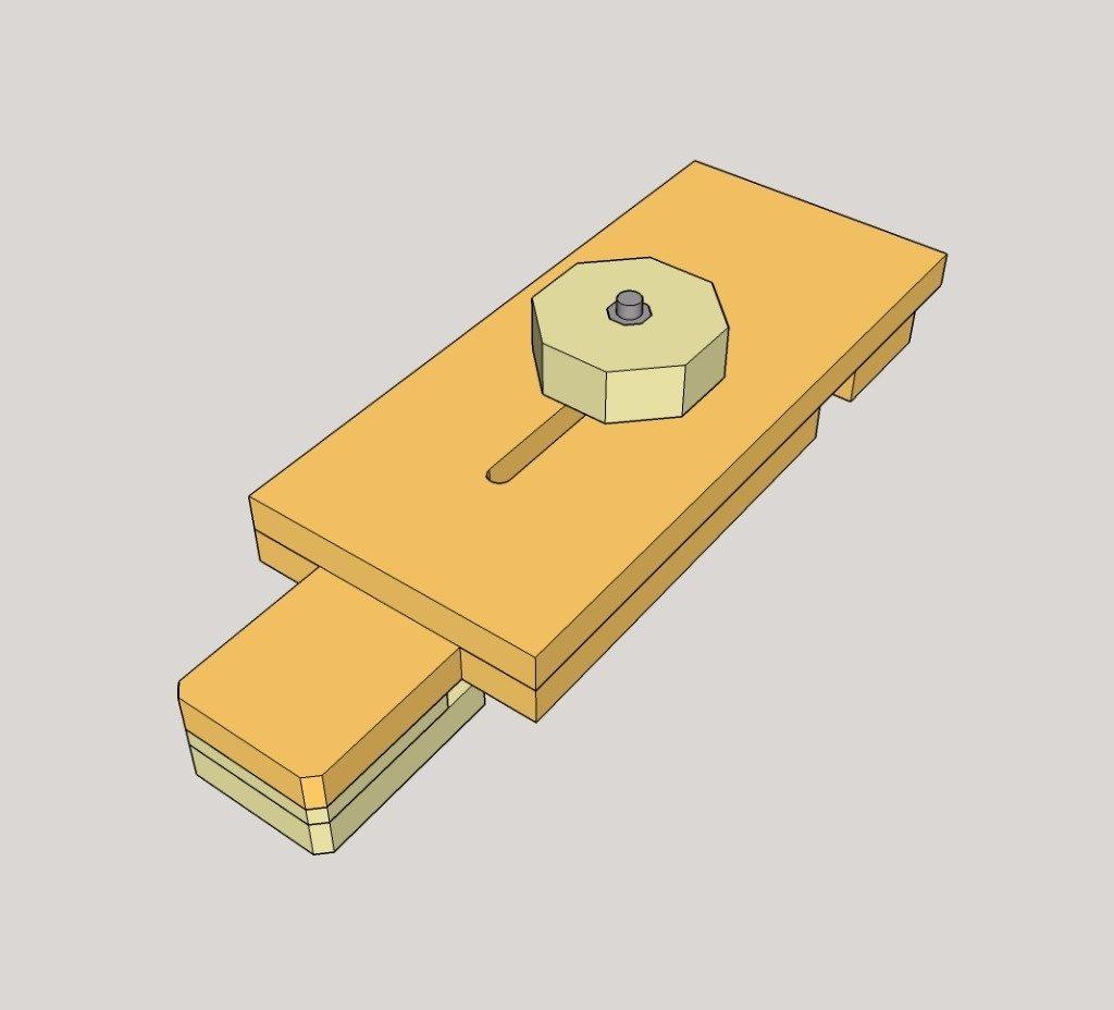 scie plongeante avec rail bois. Black Bedroom Furniture Sets. Home Design Ideas