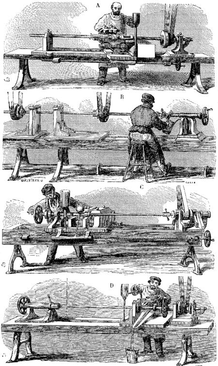 fabrication de machines spéciales