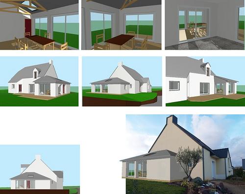 agrandissement maison ossature bois