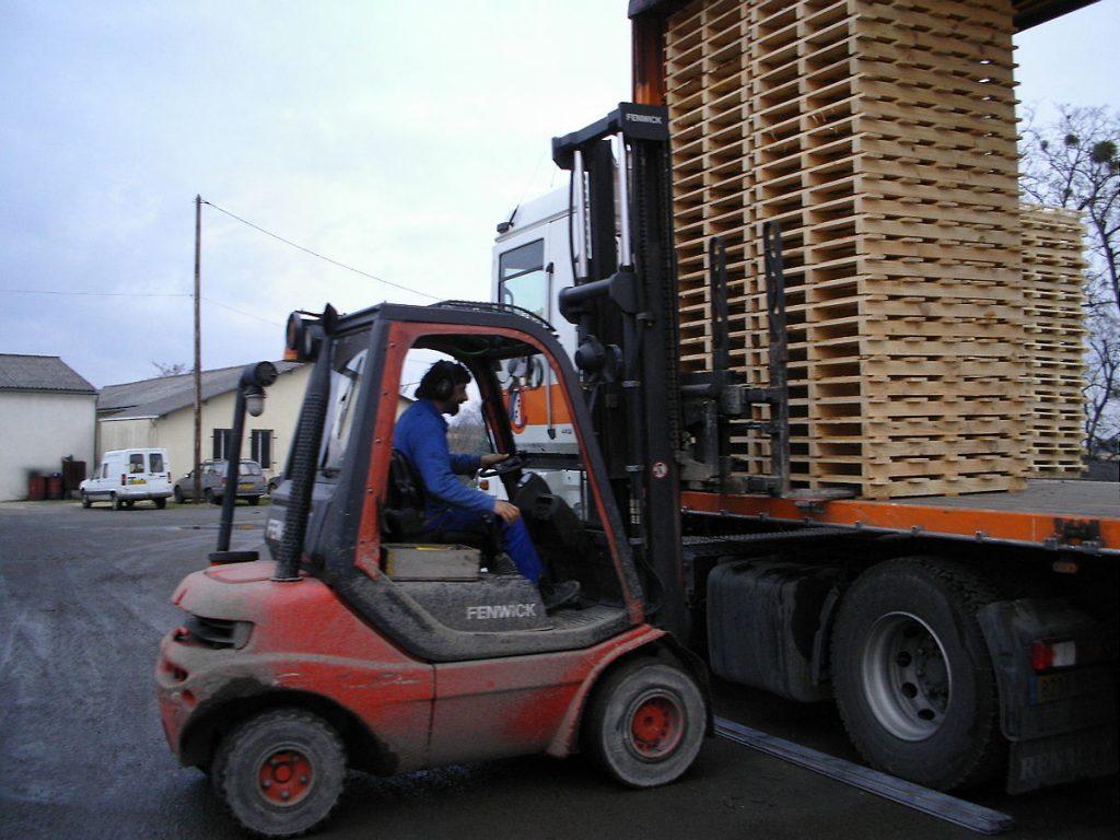 camion elevateur