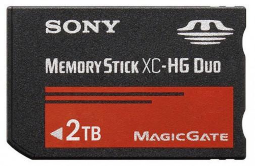 carte memory stick pro duo