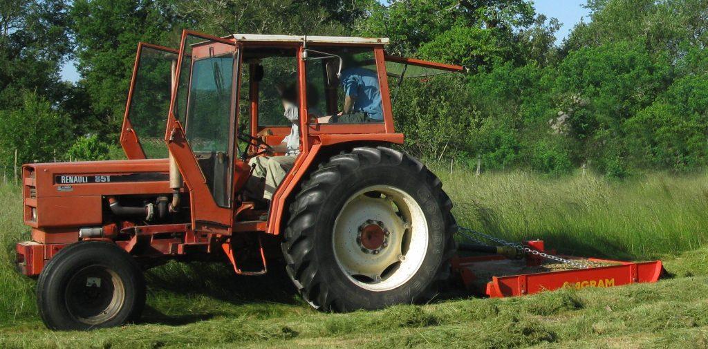 girobroyeur micro tracteur