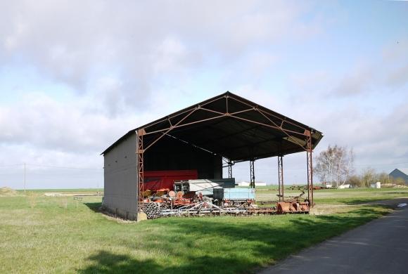 hangar agricole metallique