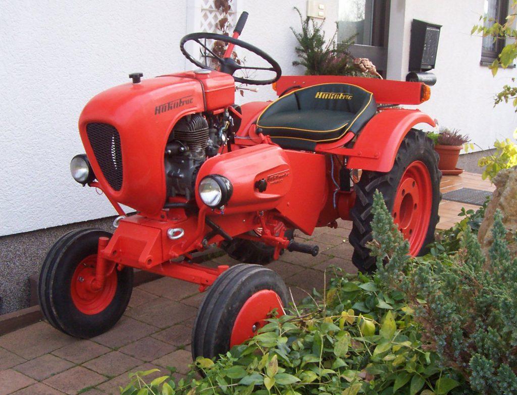 tracteur mulching