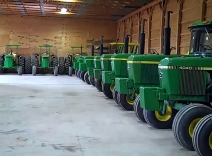 gros tracteur agricole john deere