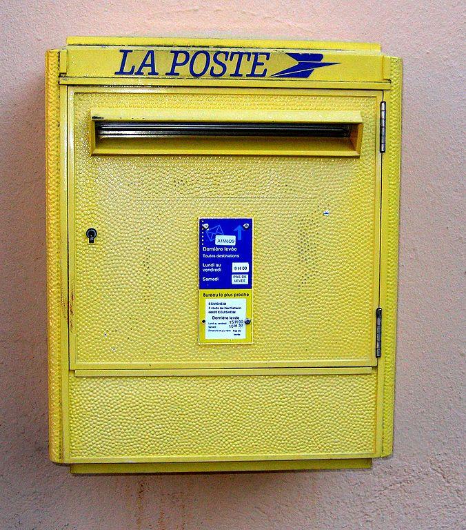 Acheter boite a lettre normalisee