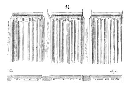 corniche bois pour meuble