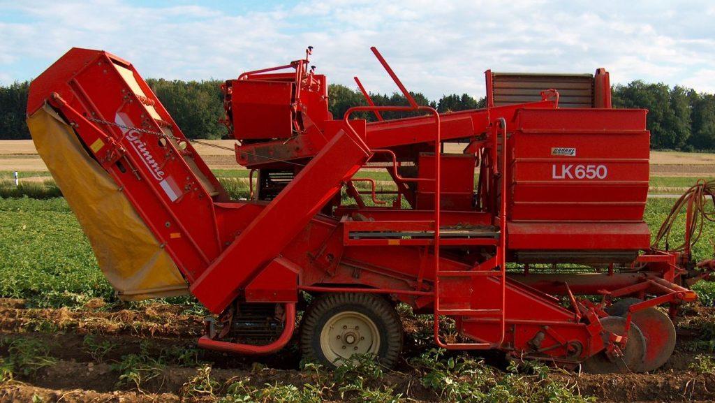 fabrication arracheuse pomme de terre