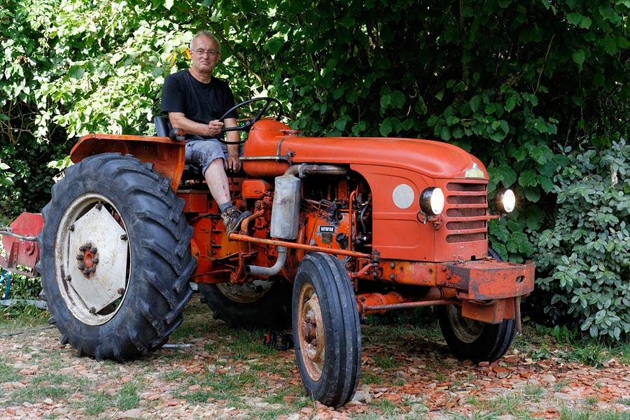 tracteur d'occasion avec chargeur