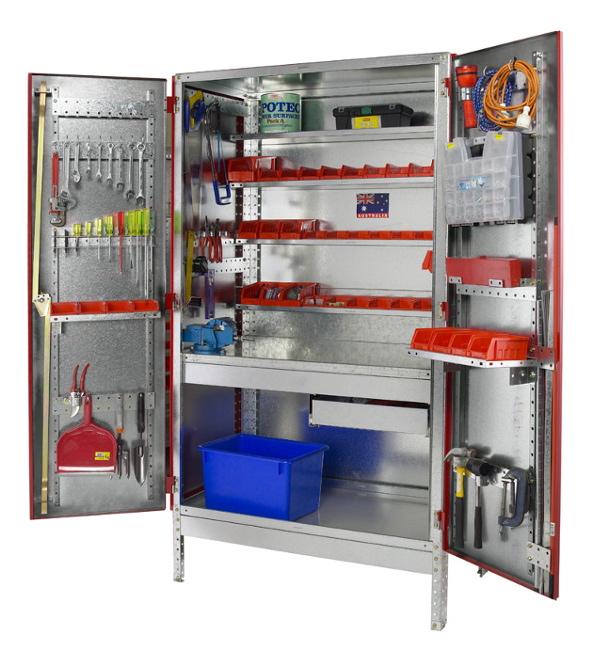 armoire de rangement pour garage