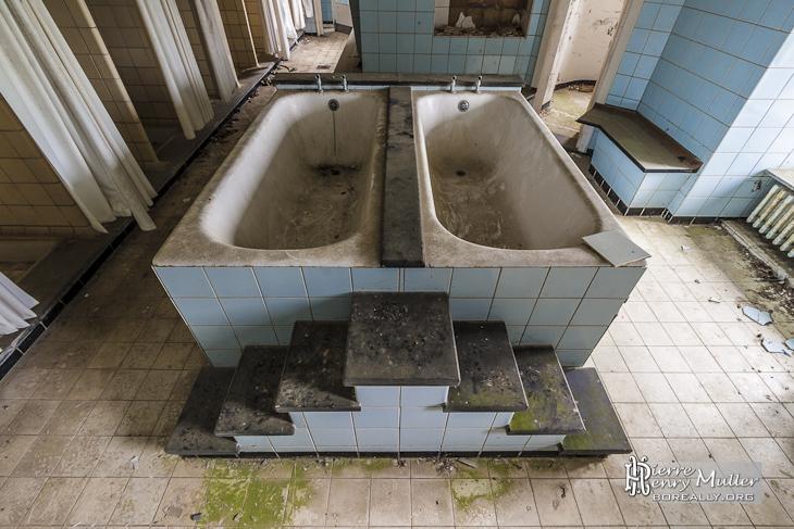 baignoire à l italienne