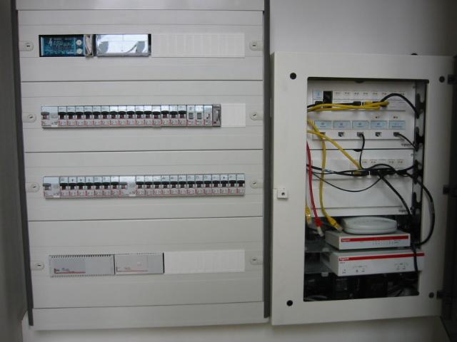 branchement coffret electrique