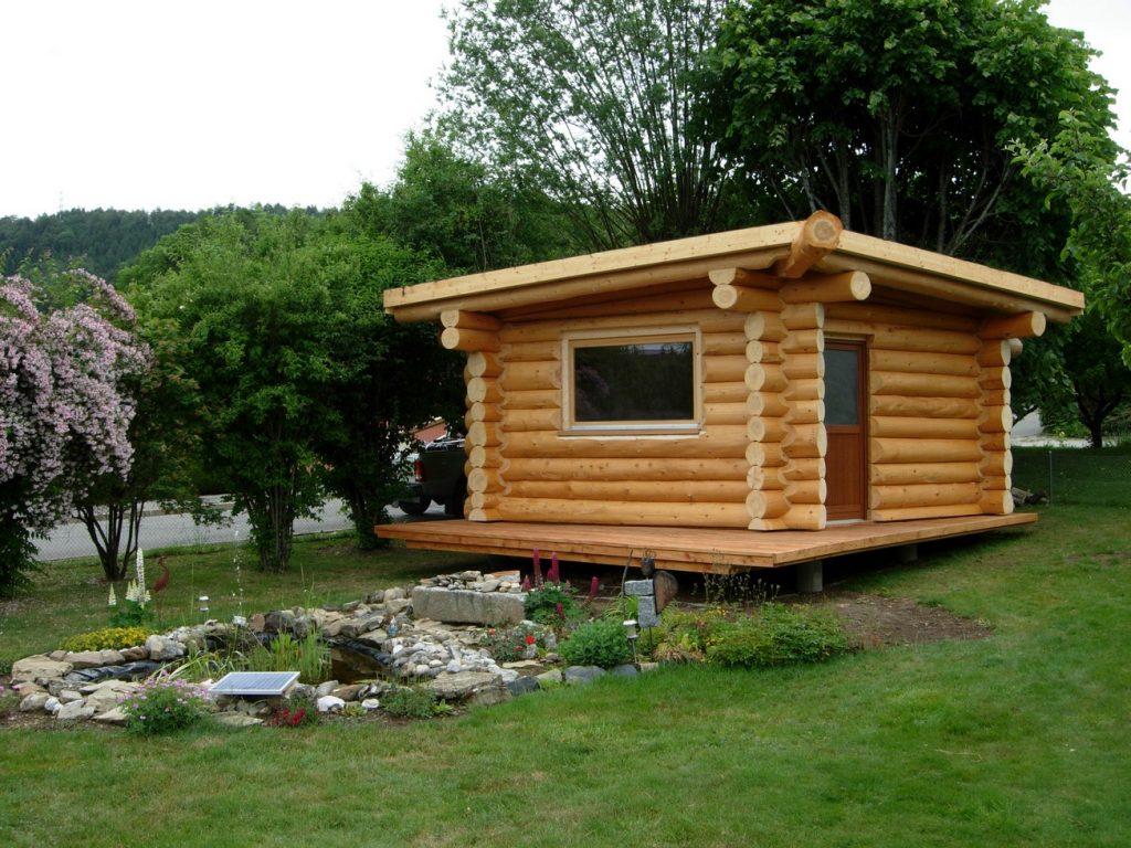 cabanon de jardin en bois