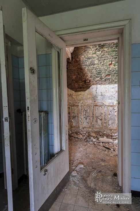 champignon mur