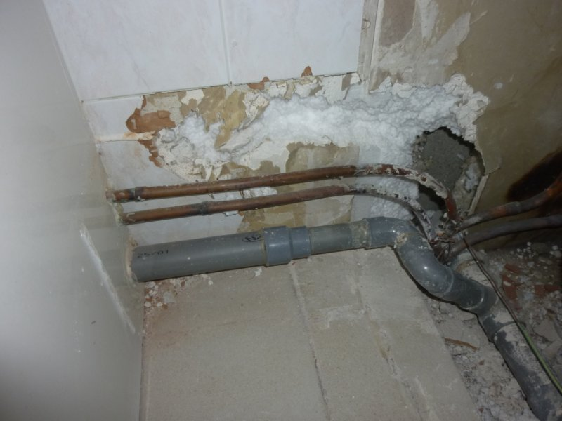 siphon pour douche italienne