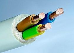 cable électrique souple