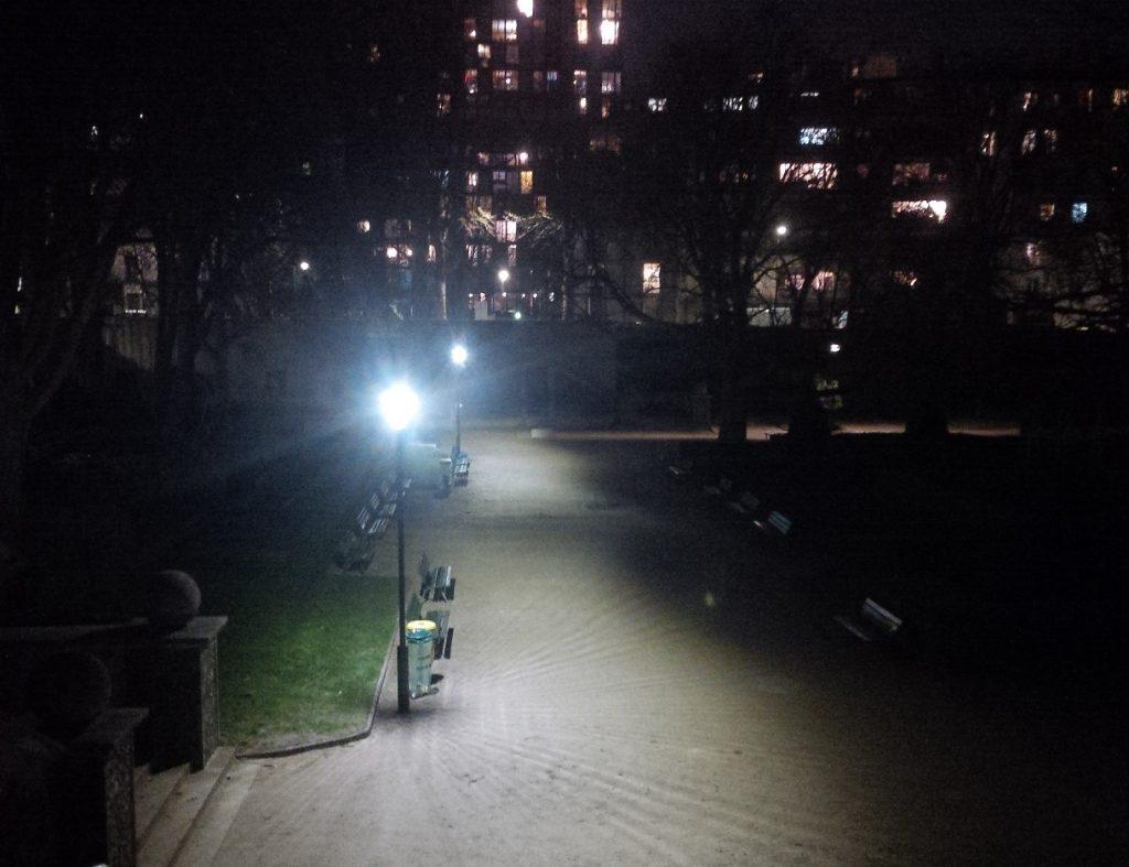 candélabre éclairage public