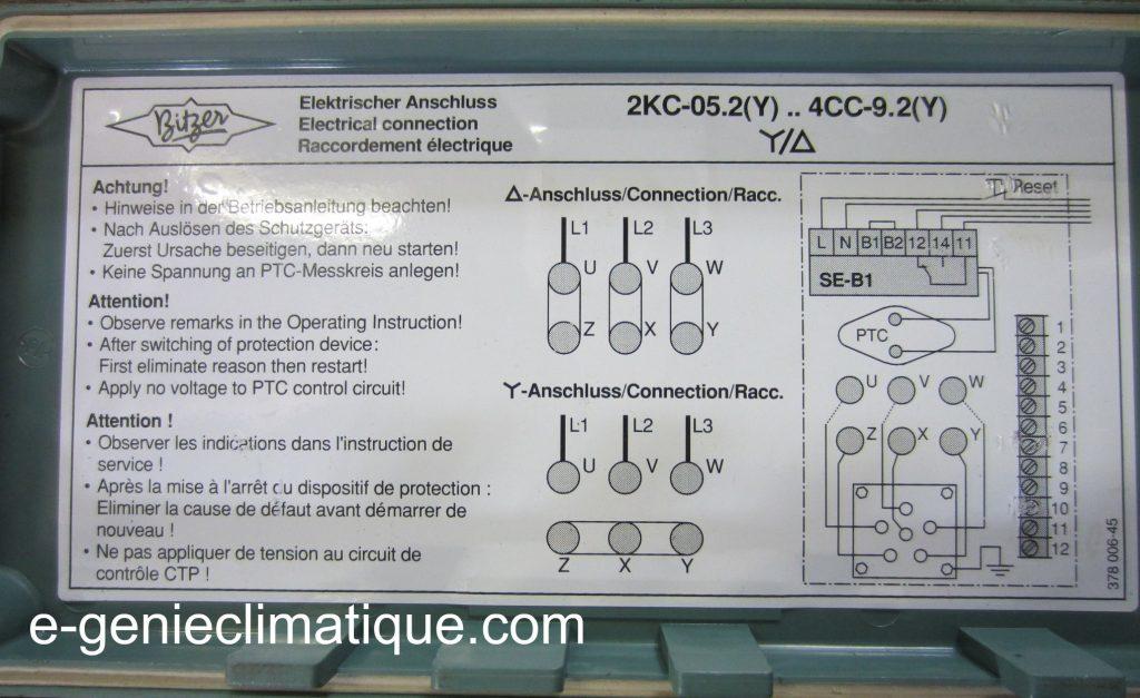 condensateur permanent moteur monophasé